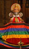 FORT COCHIN, India -  January 10, 2015: Kathakali Stock Photography
