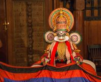 FORT COCHIN, India -  January 10, 2015: Kathakali Royalty Free Stock Images