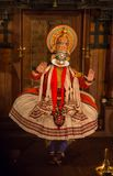 FORT COCHIN, India -  January 10, 2015: Kathakali Stock Image
