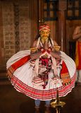 FORT COCHIN, India -  January 10, 2015: Kathakali Royalty Free Stock Photo
