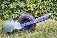 Onewheel, a self-balanced electric skateboard Stock Images