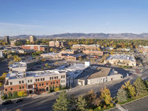 Fort Collins downtown Royalty Free Stock Photo