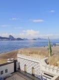 Fort Copacabana in Rio royalty-vrije stock foto's