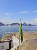 Fort Copacabana in Rio Stock Image