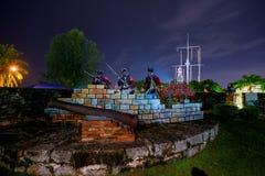 Fort Cornwallis i Georgetown arkivfoton