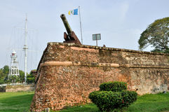 Fort Cornwallis in  Penang Royalty Free Stock Image