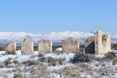 Fort Craig Historic Site Lizenzfreie Stockfotografie