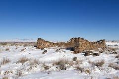 Fort Craig Historic Site Lizenzfreies Stockfoto