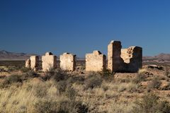 Fort Craig Ruins Royalty Free Stock Images