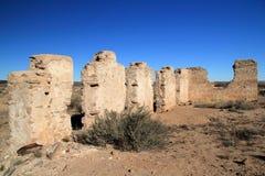 Fort Craig Ruins Stock Image