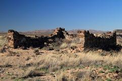 Fort Craig Ruins Royalty Free Stock Photos