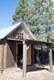 Fort Crook Museum. California log Tack House Stock Image