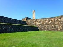 Fort défensif Galé de forteresse de mur images libres de droits