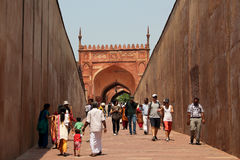 Fort d'Agra photographie stock