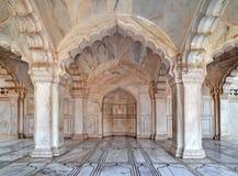 Fort d'Agra - cour et Pavillion Image libre de droits