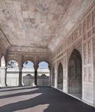 Fort d'Agra - le Khas de marbre Mahal Photographie stock libre de droits