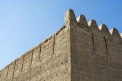 Fort d'Al Fahidi de mur Photographie stock