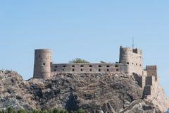 Fort d'Al-Jalaili en Oman Photos libres de droits