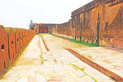 Fort d'Amer Amber et Inde de Jaipur Ràjasthàn de palais Image stock