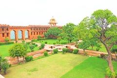 Fort d'Amer Amber et Inde de Jaipur Ràjasthàn de palais Images libres de droits