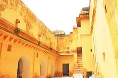 Fort d'Amer Amber et Inde de Jaipur Ràjasthàn de palais Image libre de droits