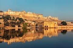 Fort d'Amer Amber, Ràjasthàn, Inde Photographie stock