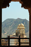 Fort d'Amer ou palais (ambre), nr Jaipur, Inde Image libre de droits