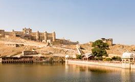 Fort d'Amer, Ràjasthàn Images libres de droits