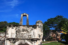 Fort d'A Famosa Photo stock