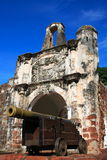 Fort d'A Famosa Photos stock