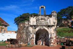 Fort d'A Famosa Photographie stock