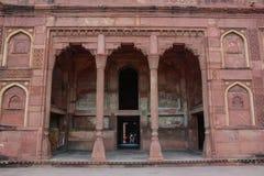 Fort d'Âgrâ à Âgrâ, Inde photos stock