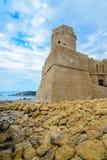 Fort d'Isola di Capo Rizzuto, la province de Crotone, Calabre image stock
