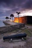 Fort dans la rue Augustine Image stock