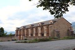 Fort Dauphin arsenał, Hautes Alpes, Francja zdjęcia royalty free
