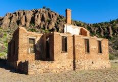 Fort-Davis-nationale historische Site lizenzfreie stockbilder