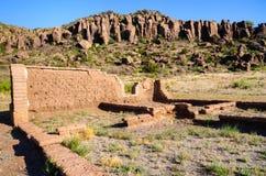 Fort-Davis-nationale historische Site lizenzfreie stockfotografie