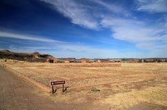 Fort-Davis-nationale historische Site stockfotografie