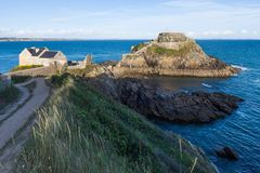 Fort de Bertheaume in Plougonvelin in Brittany, France Stock Photos