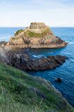 Fort de Bertheaume in Plougonvelin in Brittany - France Royalty Free Stock Photo