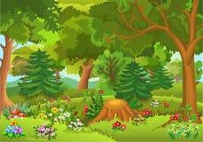 Forêt de conte de fées Photographie stock libre de droits