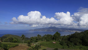 Fort de France bay, La Martinique, Antilles Royalty Free Stock Image