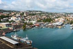Fort de France bei Martinique stockbild
