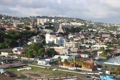 Fort de France Martinique royaltyfri foto