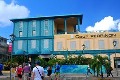 Fort de France Martinique Arkivfoto