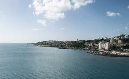 Fort-de-France Martinique. City view of Fort-de-France, Martinique Caribbean island Royalty Free Stock Images