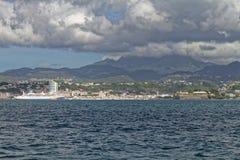 Fort-de-France - Martinique FWI stock foto