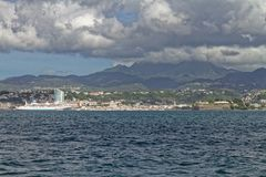 Fort-de-France - Martinique FWI. Fort-de-France - Martinique French Antilles Caribbean island stock photo