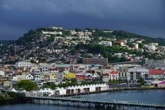 Fort-de-France, Martinique Island - Lesser Antilles, French overseas territory Stock Image