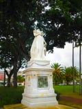 Fort-de-France Martinique, Luty, - 08, 2013: Decapitated statua imperatorowa Josephine Obrazy Stock